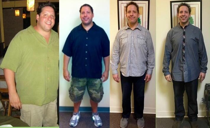 Weight loss of Dr. Siegel
